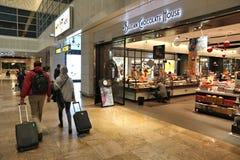 Chocolats d'aéroport de Bruxelles Photos stock