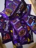 Chocolats de Cadbury image stock
