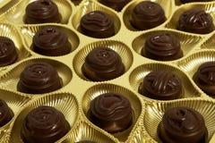 chocolats de cadre Images libres de droits