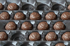 chocolats de cadre Photographie stock