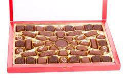 chocolats de cadre Photos libres de droits