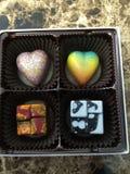 Chocolats de concepteur image stock