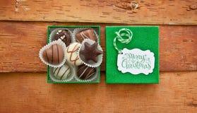 Chocolats de Noël Image stock