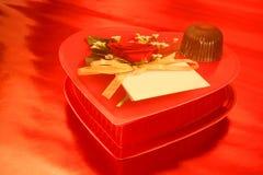 Chocolats de Valentine Photographie stock libre de droits