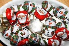 Chocolats do Natal imagens de stock