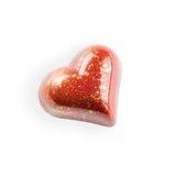 Chocolats en forme de coeur Photos libres de droits