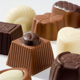 Chocolats luxueux Images stock