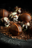 Chocolats rustiques II Photos stock