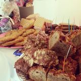 Chocolote-Kuchen Stockfotografie