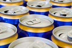 chocs de bière Photographie stock
