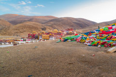 Chode Gompa Monastery in Litang Royalty Free Stock Photography