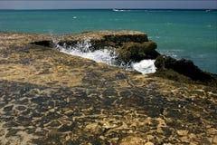 Chodniczek chmur abstrakta skały woda Zdjęcia Stock