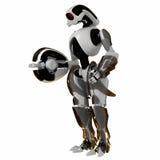 chłodno futurystyczny wojownik Obraz Royalty Free