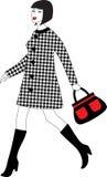Chodząca kobieta Zdjęcie Stock