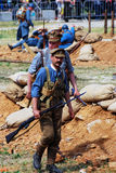 Chodzący żołnierze Zdjęcie Royalty Free