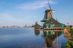 Chodzący arround Zaanse Schans fotografia royalty free