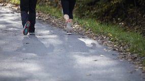 Chodzący lub działający buty Zdjęcia Stock