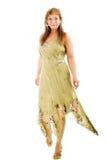 chodząca kobieta Zdjęcia Royalty Free
