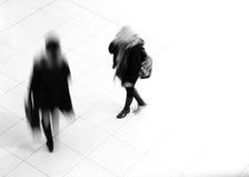 chodzące kobiety Obrazy Royalty Free