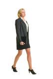 Chodzący bizneswoman zdjęcia royalty free