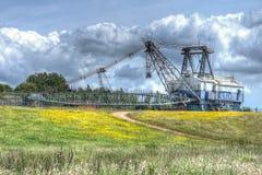 Chodzący Dragline Coalmining ekskawator Zdjęcie Royalty Free