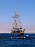 chodzący jacht Obrazy Royalty Free