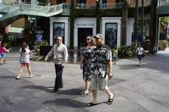 Chodzący ludzie Obraz Royalty Free