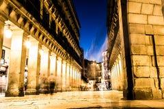 Chodzący placu Mayor, Hiszpania Fotografia Royalty Free