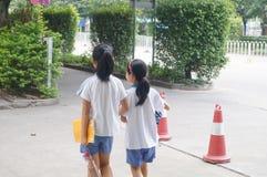 chodzić do szkoły Zdjęcie Royalty Free
