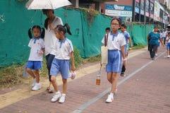 chodzić do szkoły Fotografia Stock
