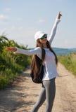 Chodzić jest naturalnym ćwiczeniem obraz royalty free