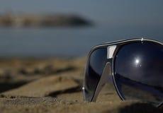 Chodzić plażą Fotografia Stock
