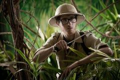 Chodzić przez dżungli fotografia stock