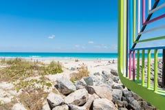 Chodzić przez Miami obraz royalty free