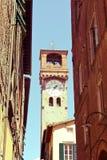 Chodzić ulicy Lucca, Tuscany, Włochy obraz royalty free