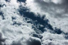 Chodzić w niebie fotografia stock