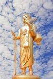 Chodzić Buddha. Obraz Royalty Free