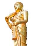 Chodzić Buddha. Obrazy Royalty Free