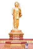 Chodzić Buddha. Zdjęcie Stock