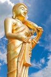Chodzić Buddha. Fotografia Stock