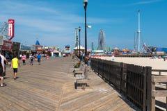 Chodzić na nadmorski wzrostów Boardwalk Fotografia Royalty Free