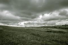 Chodzić pod chmurami Obrazy Stock