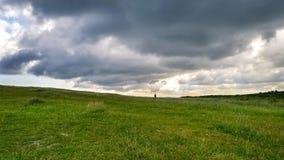 Chodzić pod chmurami Obraz Royalty Free