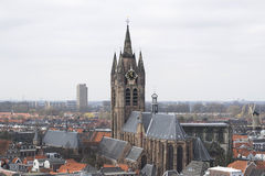 Chodzić w Delft Fotografia Stock
