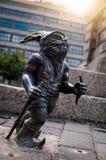 Chodziarz, Walker Dwarf Wroc�aw Stock Photography