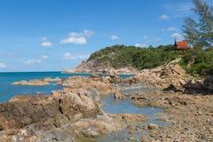 Choeng Mon plaża - Koh Samui Obraz Stock