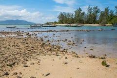Choeng Mon plaża - Koh Samui Fotografia Royalty Free