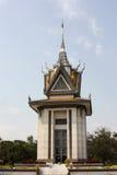 Choeung Ek Memorial Buddhist Stupa, Phenom Penh, Cambodia Royalty Free Stock Image
