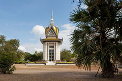 Choeung Ek Memorial Cambodia Royalty Free Stock Photo