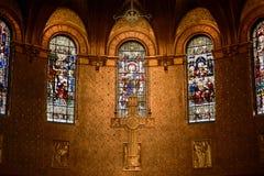 Choeur d'église Trinity de Boston, Boston, Etats-Unis photo stock